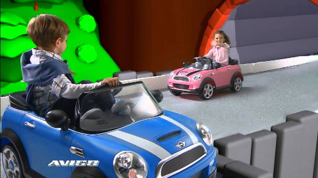 Mini Cooper 6v Avigo En Toys R Us Youtube