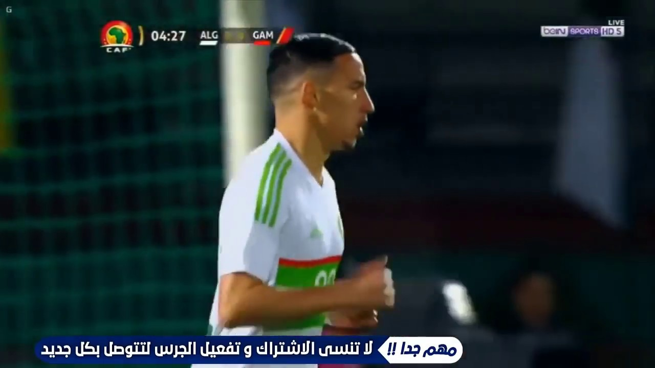 resume match algerie gambie