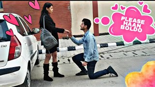 """Please say YES 🙈❤"" 