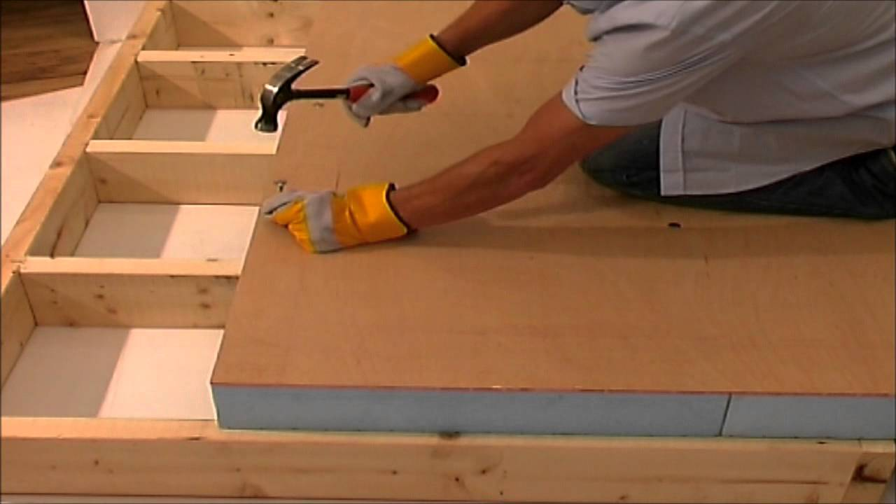 Insulation Fixings For Warm Roof Decks Wmv Youtube