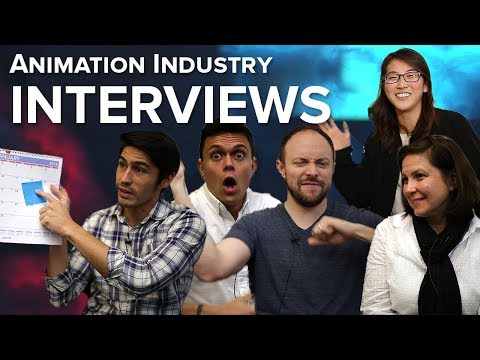 The Animation Industry Artist Interviews