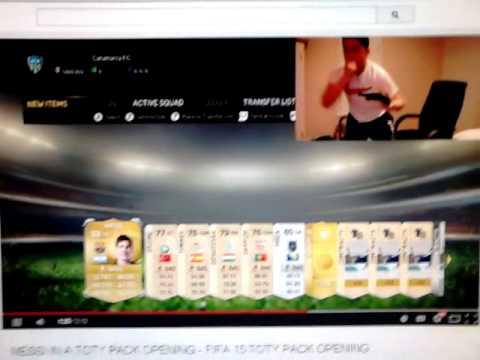 FIFA 15 | MESSI TOTY!! | Reaccion de un chavo :)