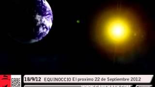 EQUINOCCIO DE OTOÑO EL PROXIMO 22 DE SEPTIEMBRE 2012