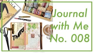 Journal with Me No. 008 | Midori Traveler's Notebook