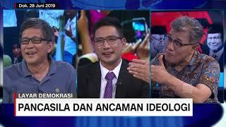 Jokowi, Rocky Gerung dan Budiman Sudjatmiko Bicara Ancaman Eksistensi Pancasila
