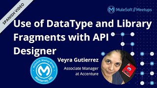 [SPANISH] Use of DataType and Library Fragments with API Designer - Monterrey MuleSoft Meetup #4