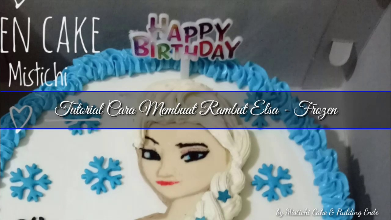 Tutorial Cara Membuat Rambut Elsa Frozen smartphone YouTube