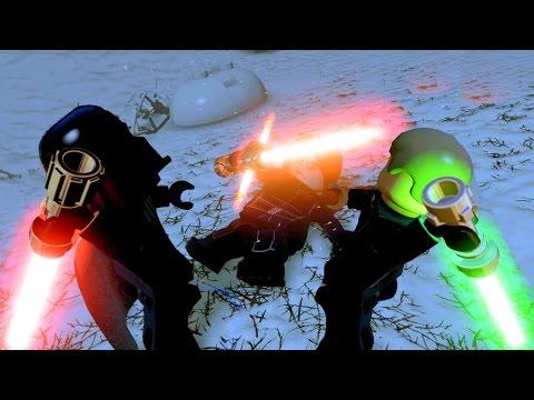 LEGO Star Wars The Force Awakens Darth Vader & Luke Skywalker Defeat ...