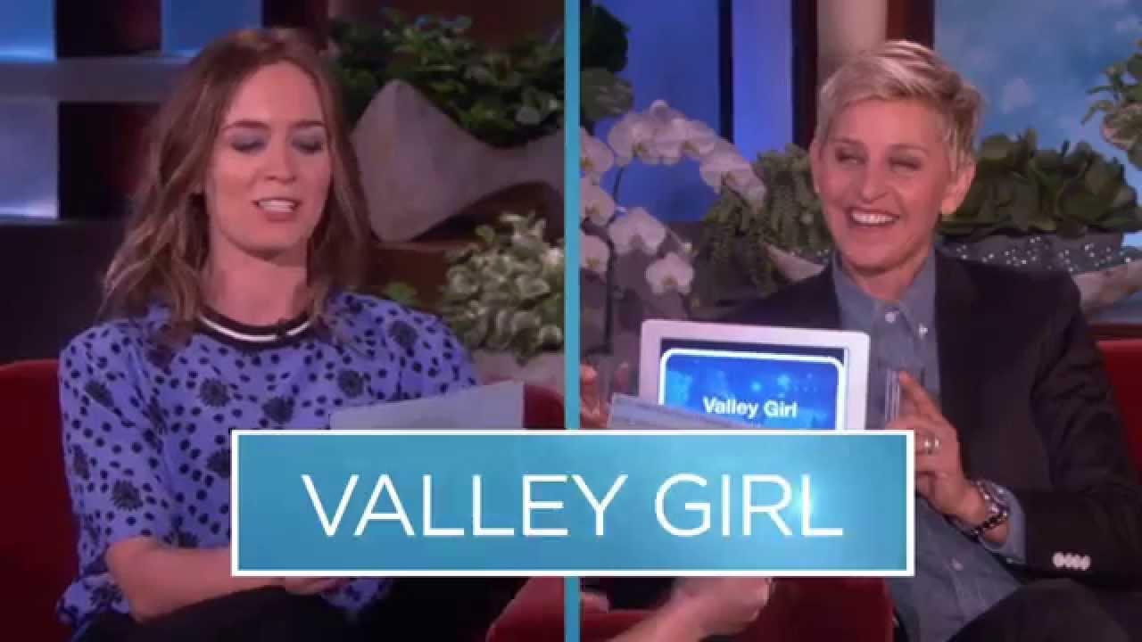 Emily Blunt, Ansel Elgort on The Ellen DeGeneres Show TODAY FULL HD (6/5/14)