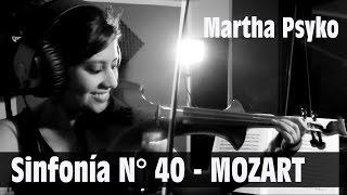 MOZART 💿 en VERSION ELECTRONICA!!  (Sinfonía N° 40).. genial!!