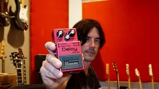 BOSS Waza Craft DM2w Delay, demo by Pete Thorn