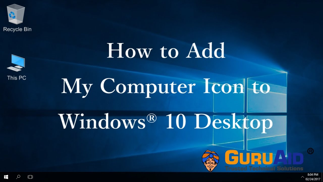 windows10 how to find my computer
