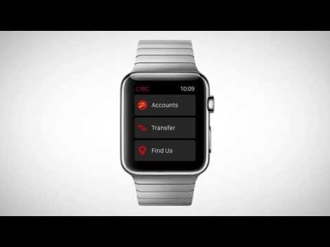 Banking on the Apple Watch with CIBC