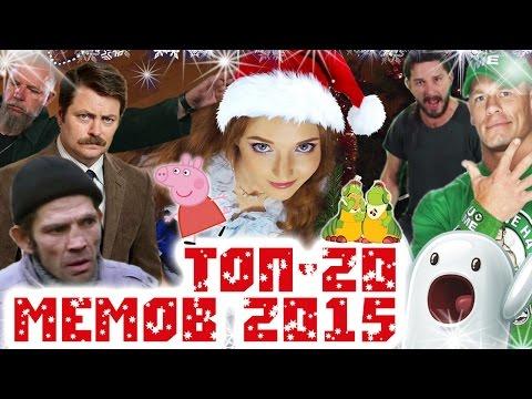 ТОП-20 МЕМОВ 2015 ГОДА!