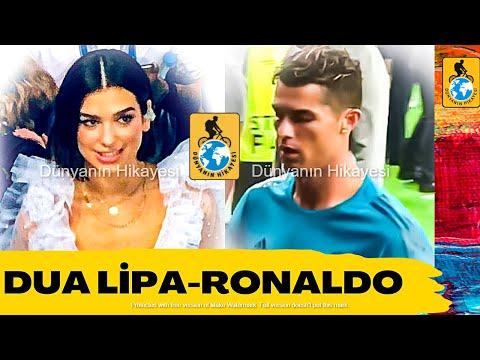 Dua Lipa kendisini görmeyen Ronaldo'ya ne tepki verdi? Şampiyonlar Ligi finaller