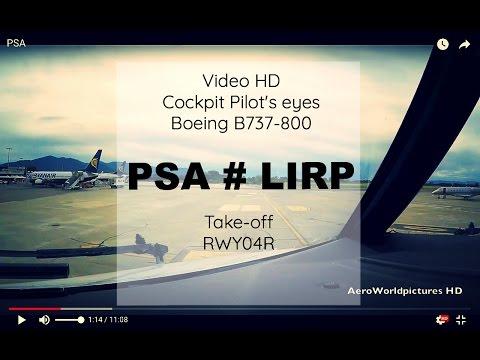 Cockpit Take-off @ PISA - Int