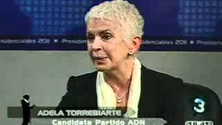 Foro Presidenciables 2011 - Entrevista a Adela de Torrebiarte