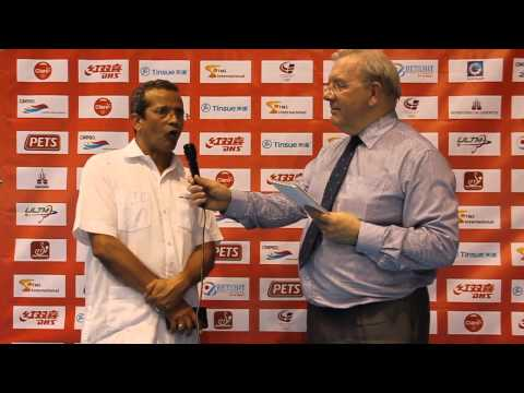 Interview with Juan Vila, 2014 ITTF Latin American Championships Tournament Director