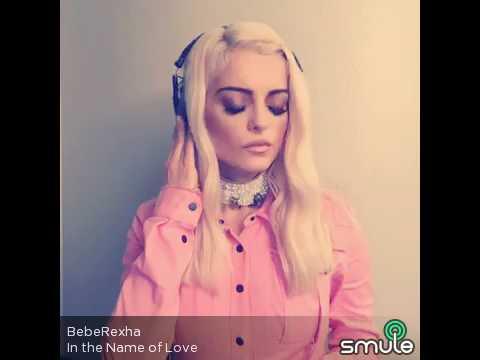 in the name of love bebe rexha...