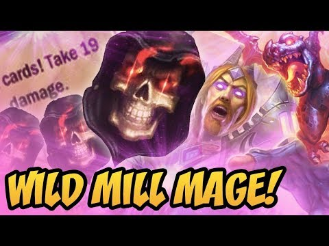Wild Mill Mage! | Saviors Of Uldum | Hearthstone