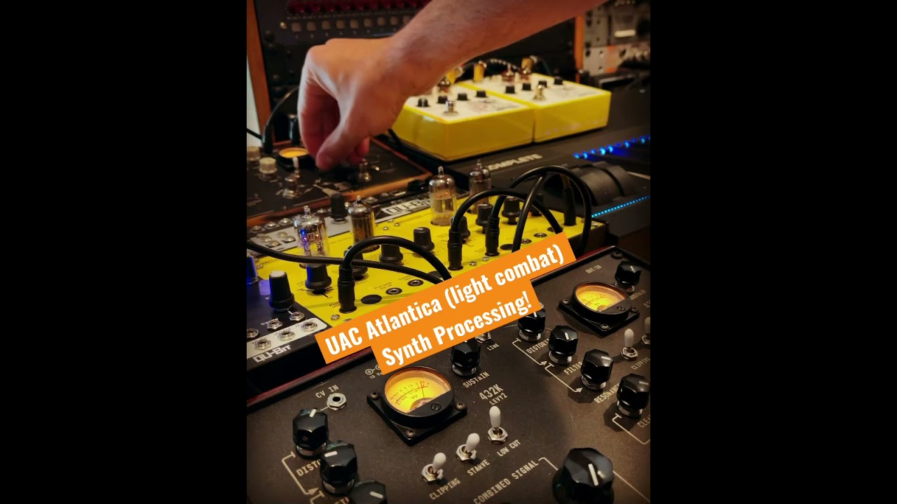 Doom Eternal TAG - Behind the Score - UAC Atlantica Synth Processing | David Levy