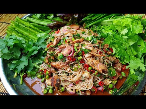 กับข้าวกับปลาโอ 106 : ยำขนมจีนปลาทู แซ่บนัวอีหลีเด้