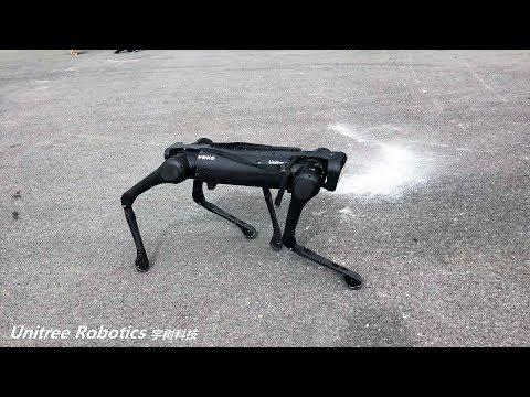 AlienGo Robot New Progress: Backflip Etc.