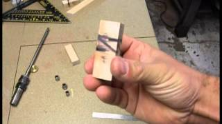 EJ's Woodworking Wave Inlay on a Ball Point Pen