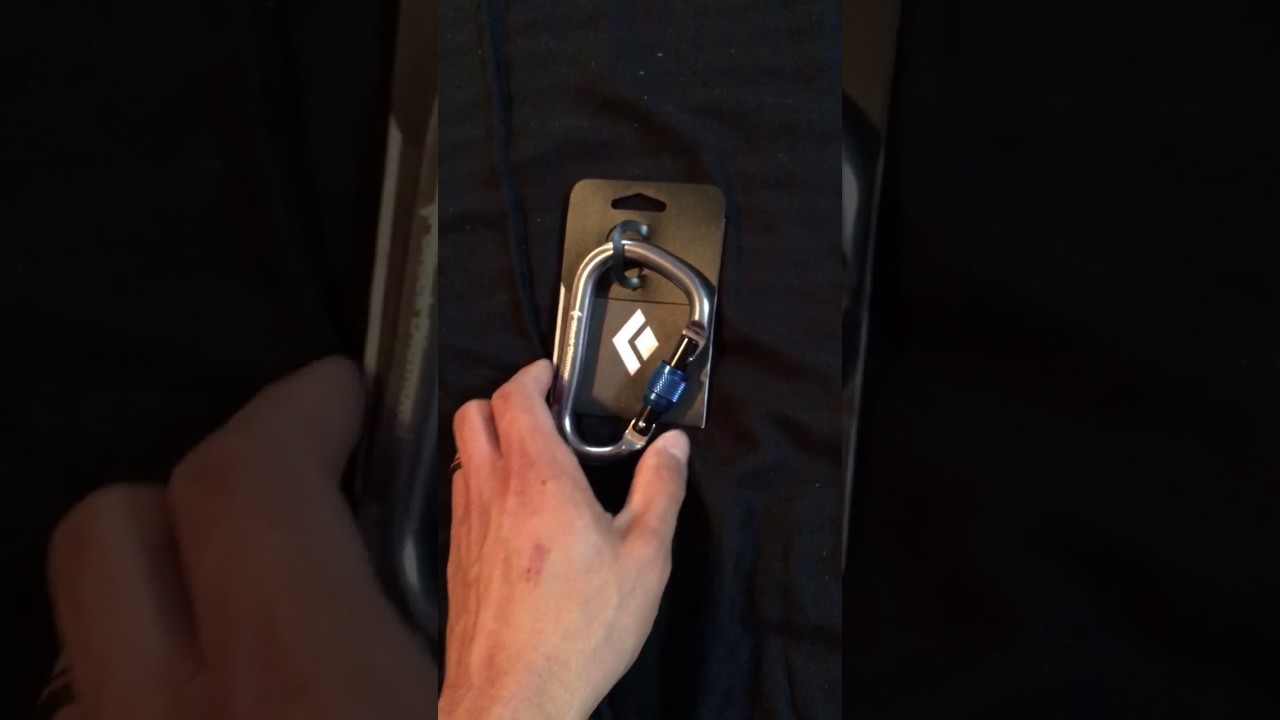 Black Diamond Rocklock Screwgate Carabiner