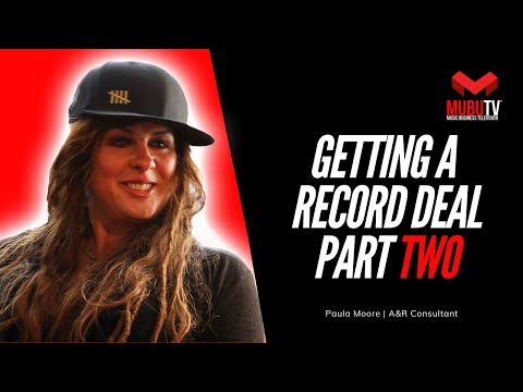 How To Get Signed To A Record Deal  Paula Moore  A&R Consultant  MUBUTV SE. 1 EP. 4 Pt.2
