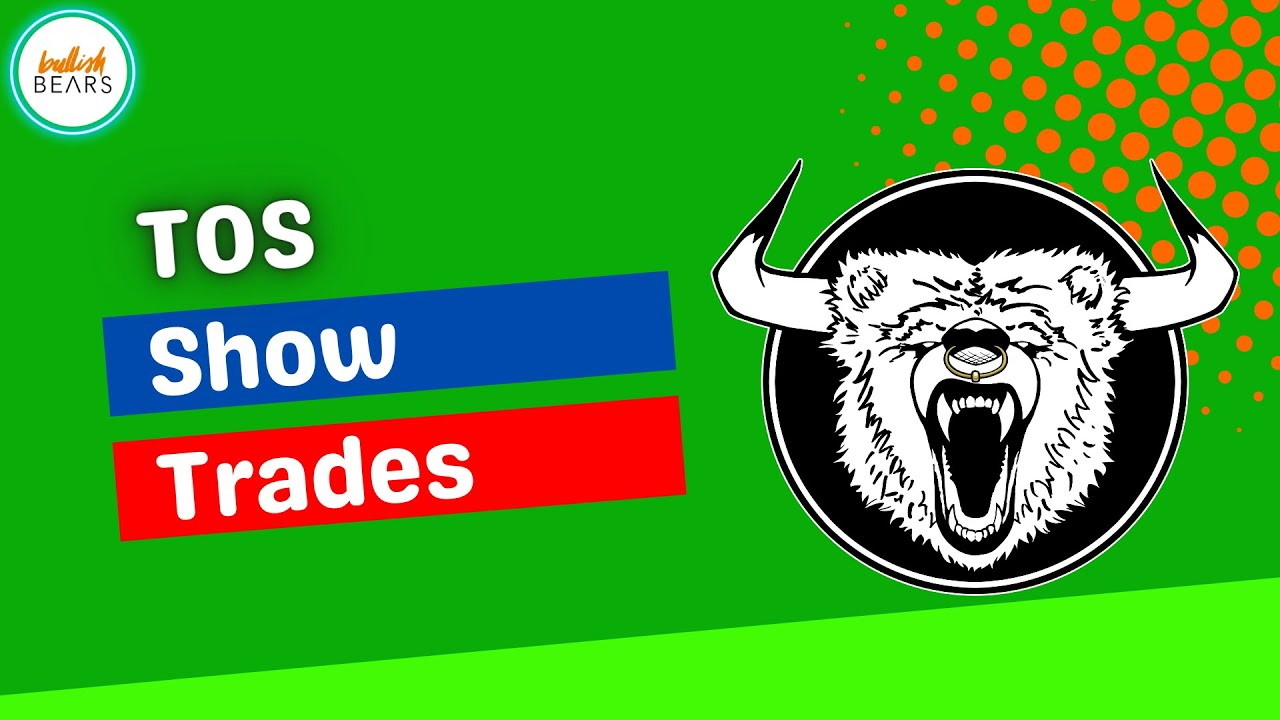 ThinkorSwim Show Trades on Chart - How to Show This on Your TOS Charts