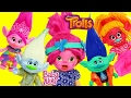 TROLLS MOVIE Makeup Makeover on Baby Alive Doll Dress Up Tutorial + Poppy Branch & DJ Suki Dolls Toy