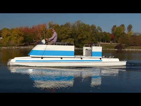 Nautic Fun, le catamaran électrique