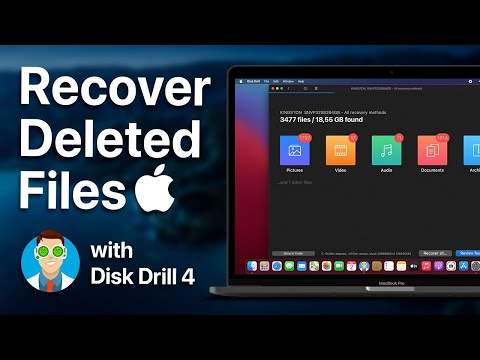 How to Recover Deleted Files on Your Mac EASILY using Disk Drill 4