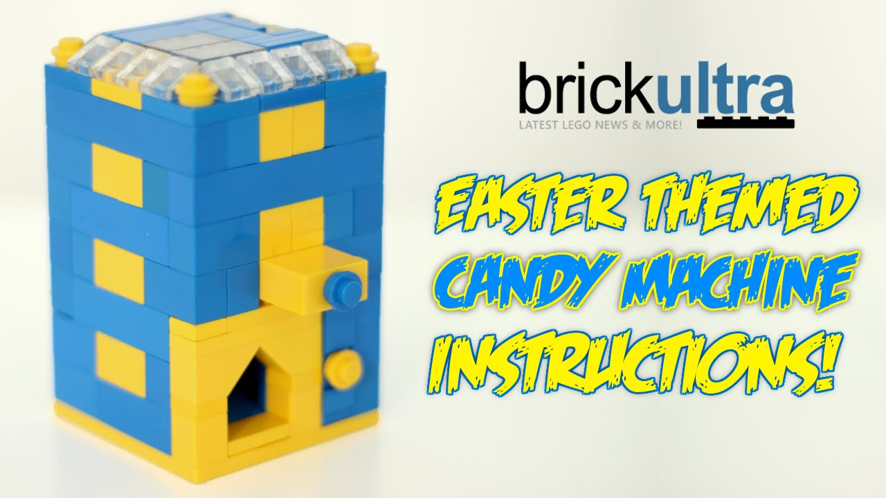 How To Build An Easter Themed Lego Candy Machine Youtube