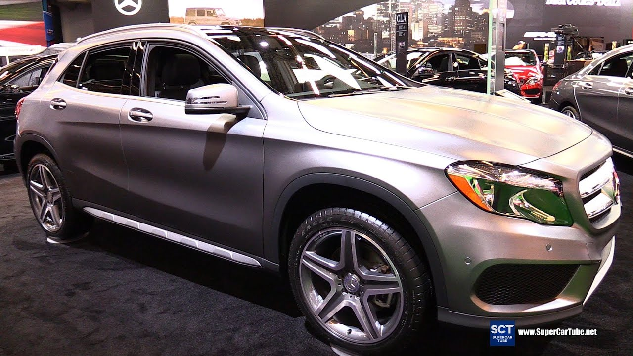 2016 mercedes benz gla class gla 250 suv exterior and interior walkaround 2016 montreal auto. Black Bedroom Furniture Sets. Home Design Ideas