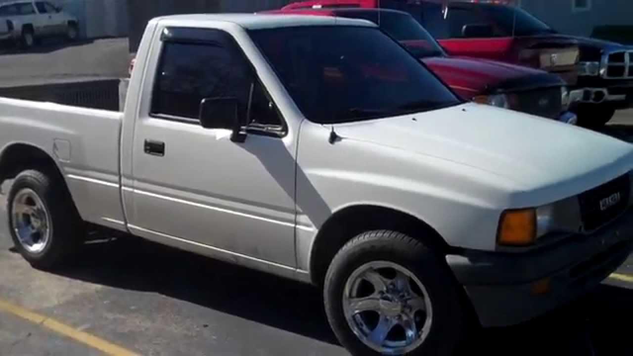 SOLD - 1993 Isuzu Pickup S Video 168,000 miles Manual Coooper Motors for  sale