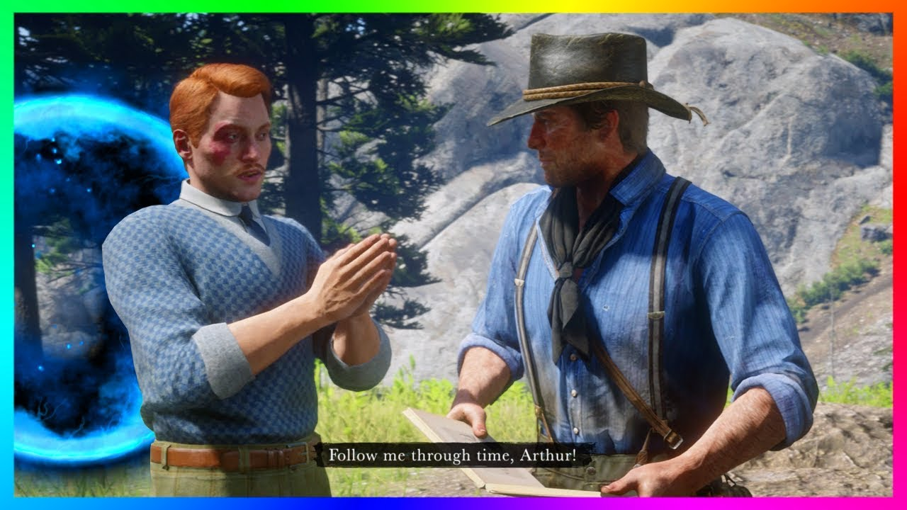 What Happens If Arthur Finds The Carvings Before Meeting The Time Traveler In Red Dead Redemption 2?