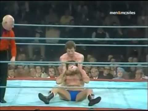 Johnny Saint vs. Mick McManus - World of Sport