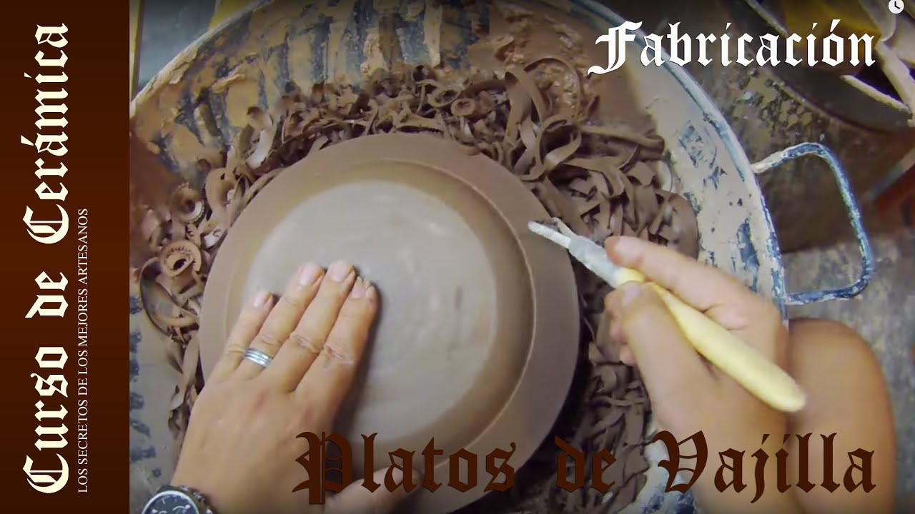 Curso de cer mica fabricar vajilla de cer mica con for Vajilla ceramica