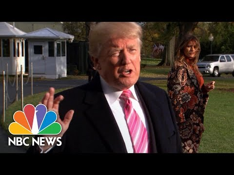 President Donald Trump On Roy Moore: 'We Don't Need A Liberal' In Alabama Senate Seat | NBC News