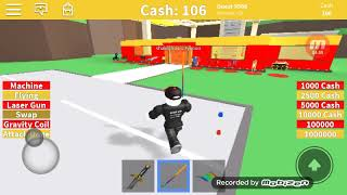 Playing Roblox. Alex Gemer