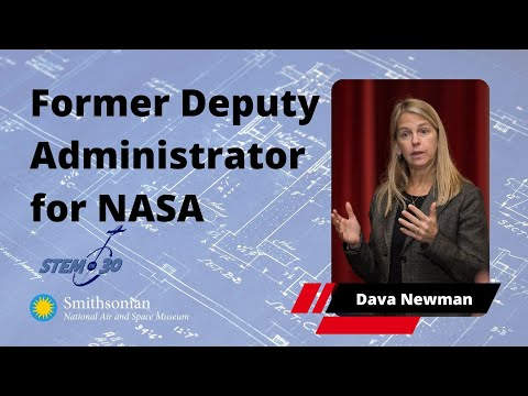 My Path: Dava Newman, Former Deputy Administrator for NASA