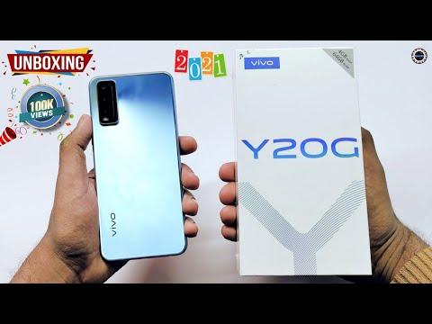 Vivo Y20G Unboxing & Review | 5000 mAh | Purist Blue Colour | Vivo Y20G 2021