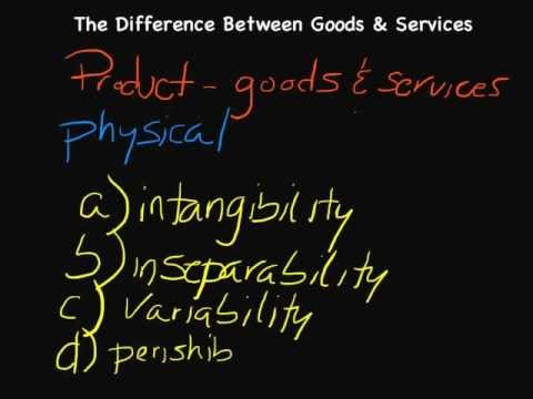 Episode 54: The Difference Between Goods & Services