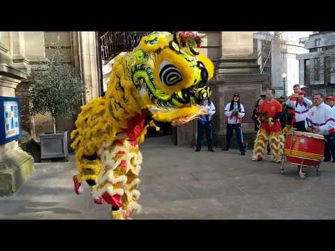 Lion Dance at St Philip's Cathedral