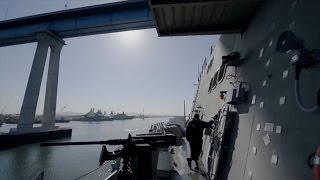 Water Jets Give These Cutting-Edge Warships Incredible Maneuverability