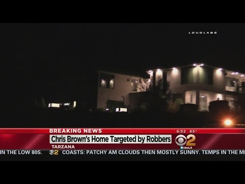 3 Armed Men Invade Singer Chris Brown's Home In Tarzana