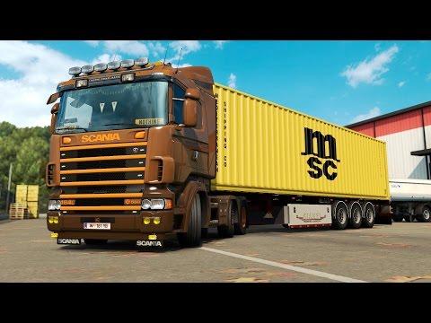 ETS 2 1.26 ProMods 2.15 Scania 164L  Nice - Parma