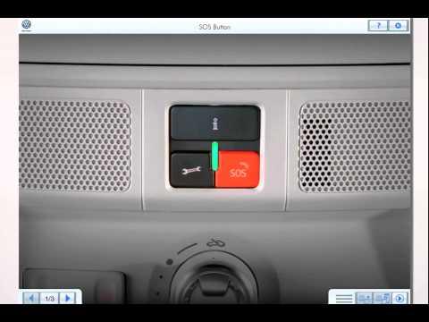 Volkswagen Car Net™ — SOS Button